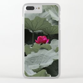 Nature's Pink Clear iPhone Case
