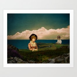 A Place For Lonely Girls Looking For Love Art Print