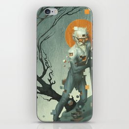 Aboard a Dying Construct iPhone Skin