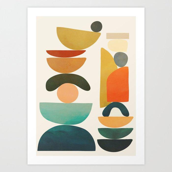 Modern Abstract Art 72 Art Print