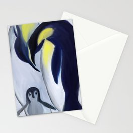 Penguins Family Stationery Cards