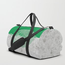 Natural Outlines - Leaf Green & Concrete #774 Duffle Bag