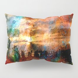 Abstract Landscape  Pillow Sham