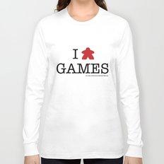 I Meeple Games Long Sleeve T-shirt