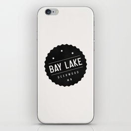 BAY LAKE iPhone Skin