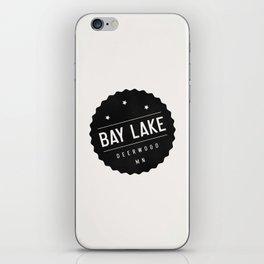 BAY LAKE iPhone Skin