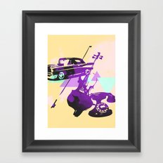 Throwback Framed Art Print