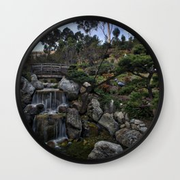 Japanese Friendship Gardens, Balboa Park, San Diego Wall Clock