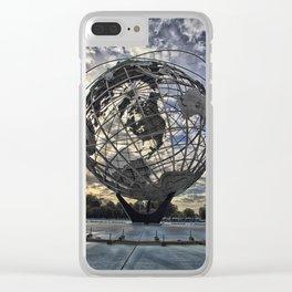 Unisphere Clear iPhone Case