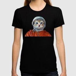 Astronaut Cat #4 T-shirt