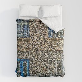 crystalized facade Comforters