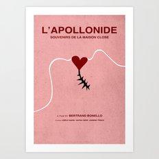 L'Apollonide ( Souvenir de la Maison Close ) - MINIMALIST POSTER Art Print