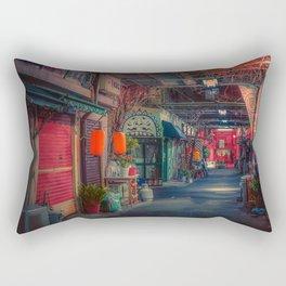 Separate World/ Japan Tokyo Night Photo Rectangular Pillow