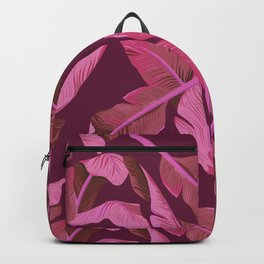 Tropical '17 - Ajaja [Banana Leaves] Backpack