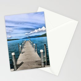 Stepping to the Sea Stationery Cards