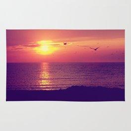 Lake Michigan Sunset Rug