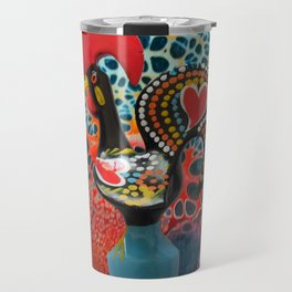 Galo de Barcelos, Portugal Travel Mug
