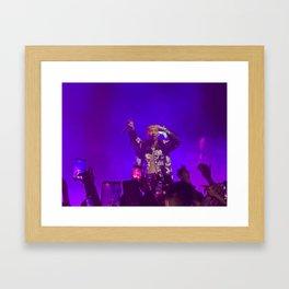 Icon Living - Jaden Smith Concert Framed Art Print