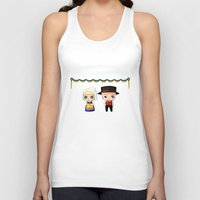 swedish Tank Tops featuring Swedish Chibis by artwaste