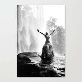 Bride with liberty Canvas Print