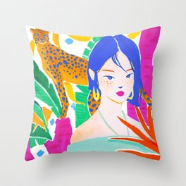 Wild Jungle Throw Pillow