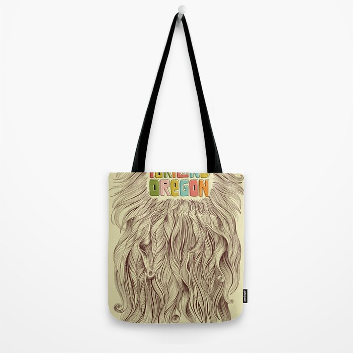 Portland = Beards Tote Bag
