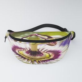 Passion Flower Bloom Fanny Pack