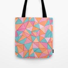 watercolor triangles Tote Bag