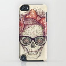 Hipster Girl is Dead iPod touch Slim Case