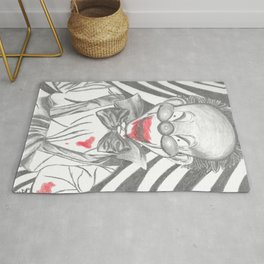 Clown Doll Rug