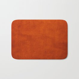 Burnt Orange  Bath Mat