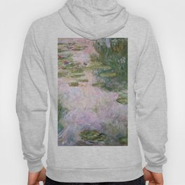 Claude Monet - Water Lilies Hoody