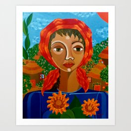 Sunflowers of Hope Art Print