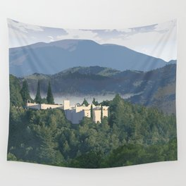 Napa Valley - Sterling Vineyards, Calistoga District Wall Tapestry