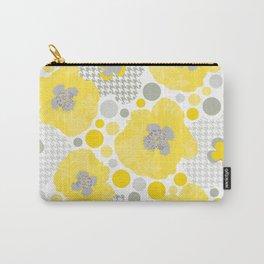Yellow Oriental Poppy Garden Carry-All Pouch