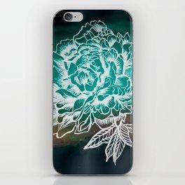 Waterflower II iPhone Skin
