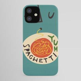 Yum Spaghetti iPhone Case