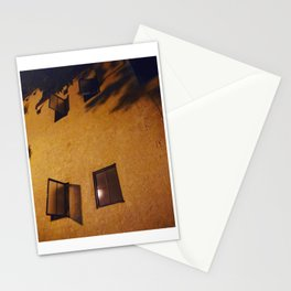Night windows (2018) from Roberta Winters Photography Stationery Cards