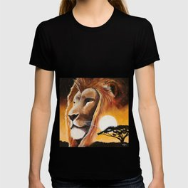Animal - Lion - Quiet strength - by LiliFlore T-shirt