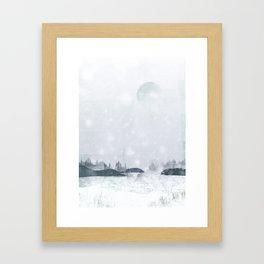 Snowy Winter Framed Art Print
