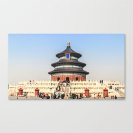 Temple of Heaven Canvas Print