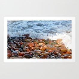 Stone wash Art Print