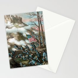 The Battle of Lookout Mountain Stationery Cards