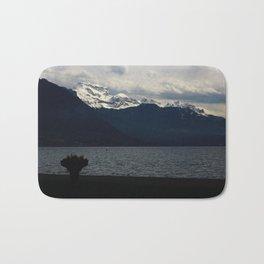 Mountain lake Bath Mat