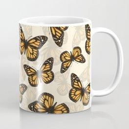 Monarch butterfly pattern Coffee Mug
