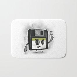 Floppy Disc Dave Bath Mat