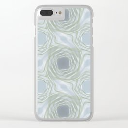 Circling Clear iPhone Case