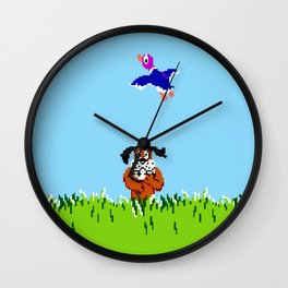 Duck Hunt Wall Clock