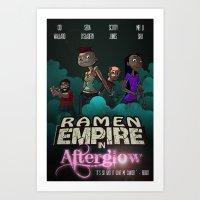 Ramen Empire - Afterglow Art Print