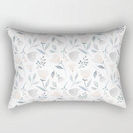 Whimsical Flowers Rectangular Pillow